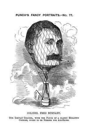 Burnaby, Caricature