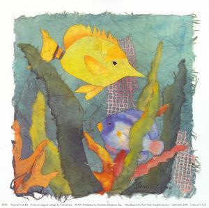 Tropical Fish III by Linn Done