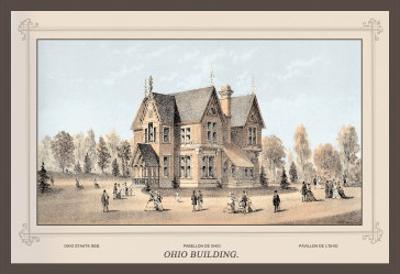 Ohio Building, Centennial International Exhibition, 1876