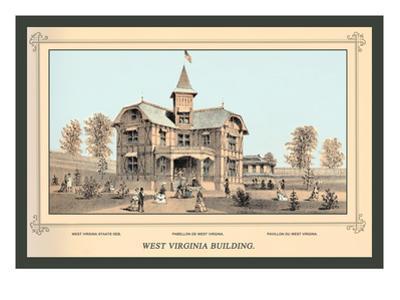 West Virginia Building, Centennial International Exhibition, 1876