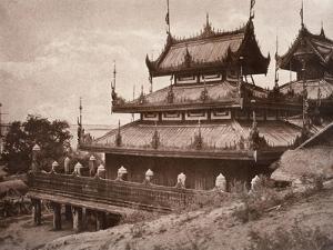 No. 8. Ye-Nan-Gyoung [Yenangyaung] Kyoung, 1855 by Linnaeus Tripe