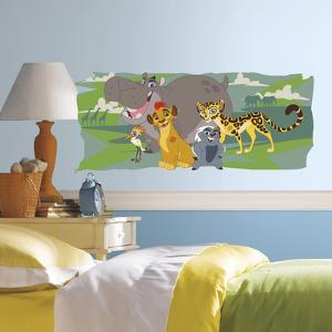 Lion Guard and Friends Peel and Stick Giant Wall Graphic