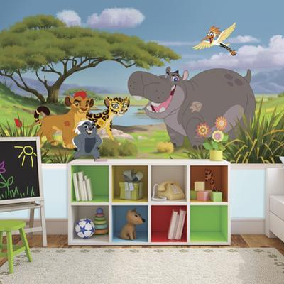 Lion Guard XL Chair Rail Prepasted Mural