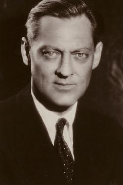 Lionel Barrymore, American Actor and Film Star