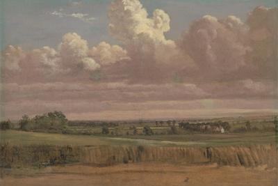 Landscape with Wheatfield, C.1850s