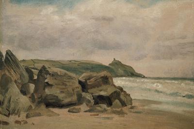 View Towards Rame Head, Cornwall, 19th Century