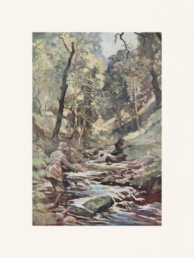 Devon Stream by Lionel Edwards