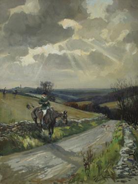 Duke Of Beaufort's Hunt by Lionel Edwards