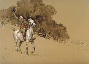Tally Ho! by Lionel Edwards