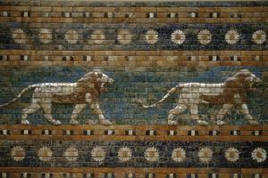 Lions, Ishtar Gate, Babylon