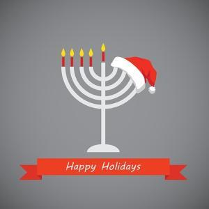 Happy Holidays, Merry Christmas and Happy Hanukkah by LipMic