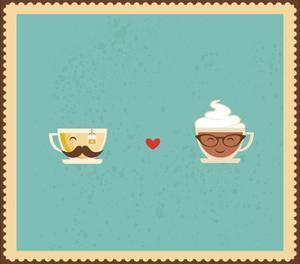 Hypster Coffee and Tea Cups by LipMic