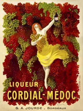 Liquer Cordial-Médoc, G. A. Jourde - Bordeaux