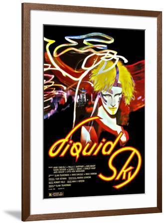 Liquid Sky--Framed Poster