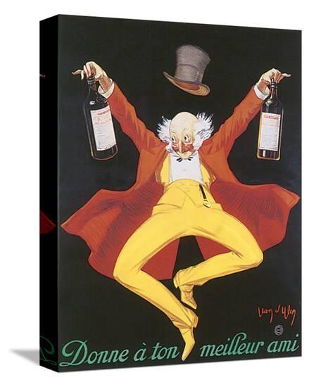 Liquor, Donne A Ton Meilleur Ami-Jean D' Ylen-Stretched Canvas Print