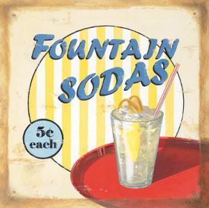 Fountain Sodas by Lisa Alderson