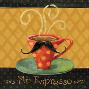 Cafe Moustache III Square by Lisa Audit