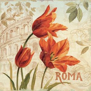 European Flowers I by Lisa Audit