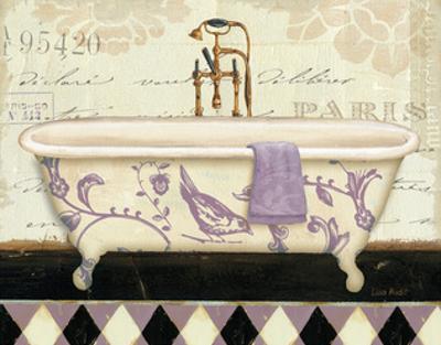Lavender Marche de Fleurs Bath II by Lisa Audit
