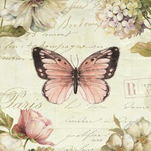 Marche de Fleurs Butterfly I by Lisa Audit