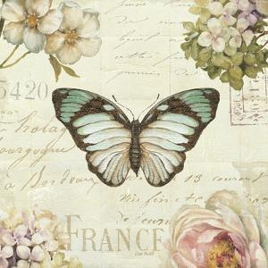 Marche de Fleurs Butterfly II by Lisa Audit