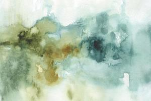 My Greenhouse Abstract I no Gold by Lisa Audit