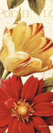 Poesie Florale Panel II by Lisa Audit