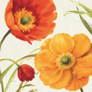Poppies Melody II by Lisa Audit
