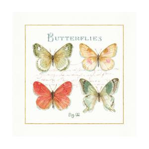 Rainbow Seeds Butterflies III by Lisa Audit