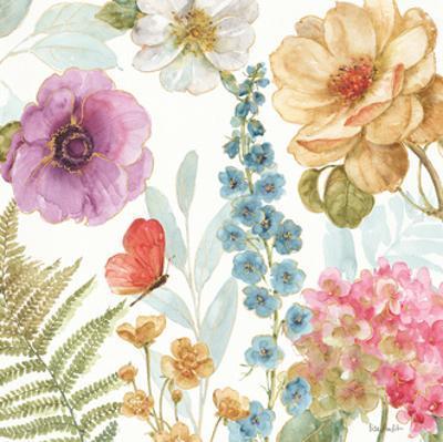 Rainbow Seeds Flowers III by Lisa Audit