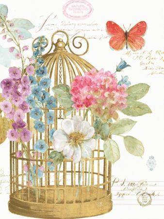 Rainbow Seeds Romantic Birdcage II by Lisa Audit