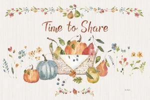 Time to Share I by Lisa Audit