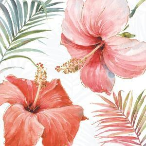 Tropical Blush III by Lisa Audit