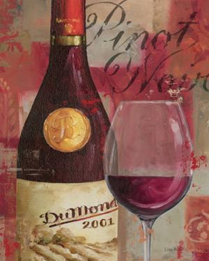 Vin Abstrait I by Lisa Audit