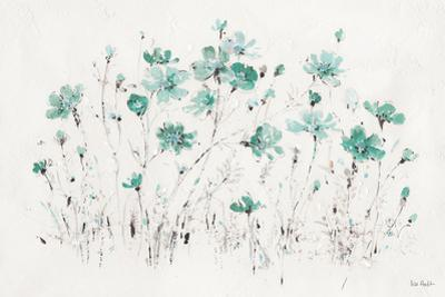 Wildflowers I Turquoise by Lisa Audit