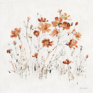 Wildflowers II Orange by Lisa Audit