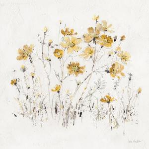 Wildflowers II Yellow by Lisa Audit