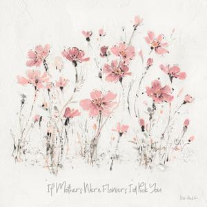 Wildflowers III Pink Mothers by Lisa Audit