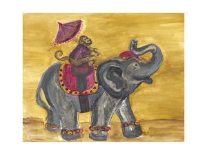 Delhi Parade I by Lisa Choate