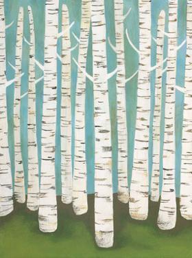 Summer Birches by Lisa Congdon