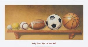Keep Your Eye on the Ball by Lisa Danielle