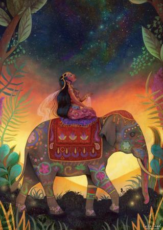Princess and The Stars by Lisa Falzan