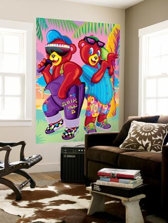 Teddy Rappers '93 by Lisa Frank