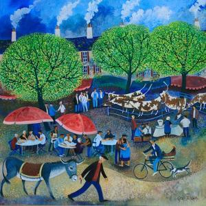 Another Market Day, 2008 by Lisa Graa Jensen