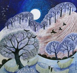 First Snow Surrey Hills by Lisa Graa Jensen