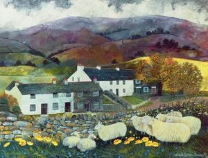 Sheep Country, 1988 by Lisa Graa Jensen