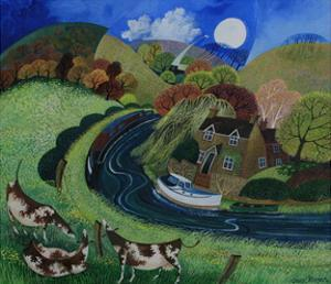 St. Catherine's, Near Shalford, 2013 by Lisa Graa Jensen