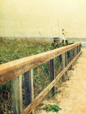Beach Rails I by Lisa Hill Saghini