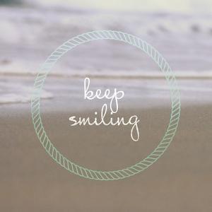 Keep Smiling by Lisa Hill Saghini