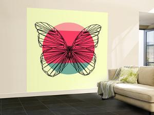 Butterfly and Sunset by Lisa Kroll